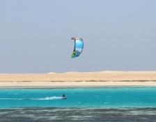 Kitesurf safari Rode Zee